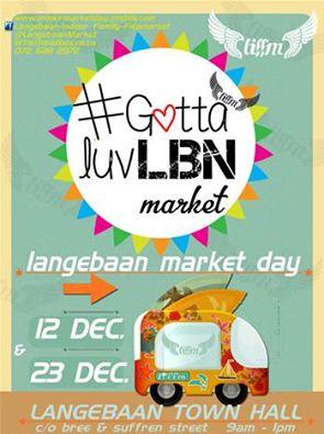 Langebaan Market December 2015