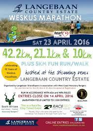 Weskus Marathon 2016