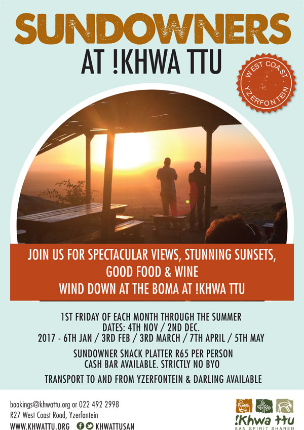Khwa ttu Special events