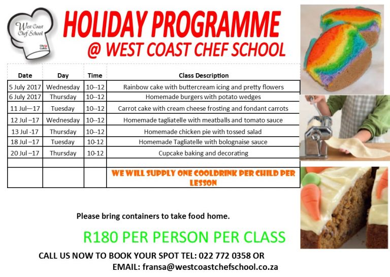 July Events on the Cape West Coast